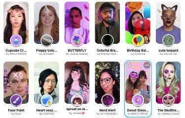Snapchat fotomaton